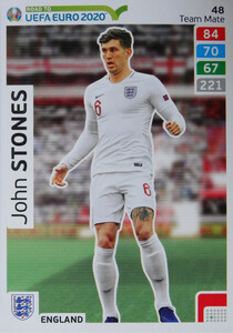 ROAD TO EURO 2020 TEAM MATE John Stones 48
