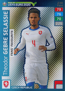 ROAD TO EURO 2020 FANS FAVOURITE Theodor Gebre Selassie #238