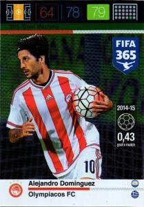 2016 FIFA 365 GOAL MACHINE Alejandro Domingiez #205