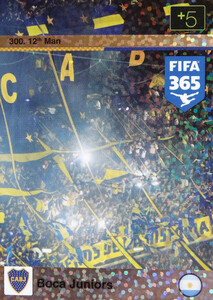 2016 FIFA 365 12th MAN BOCA JUNIORS #300