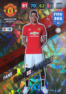 2018 FIFA 365 FANS FAVOURITE Chris Smalling #66