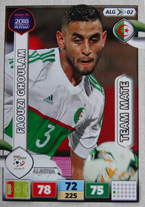 ROAD TO RUSSIA 2018 TEAM MATE ALGERIA  GHOULAM 02