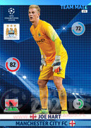 2014/15 CHAMPIONS LEAGUE® TEAM MATE Joe Hart  #172