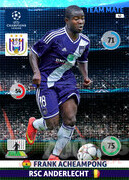 2014/15 CHAMPIONS LEAGUE® TEAM MATE Frank Acheampong #42