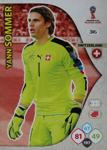 WORLD CUP RUSSIA 2018 TEAM MATE SZWAJCARIA SOMMER 316