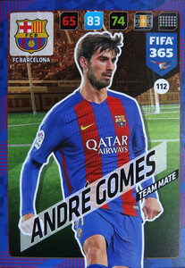 2018 FIFA 365 TEAM MATE André Gomes #112