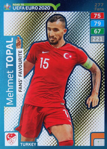 ROAD TO EURO 2020 FANS FAVOURITE Mehmet Topal #277