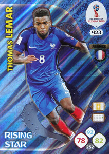WORLD CUP RUSSIA 2018 RISING STAR LEMAR 423