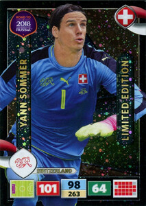 ROAD TO RUSSIA 2018 LIMITED Yann Sommer