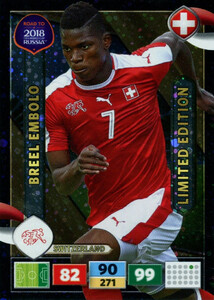 ROAD TO RUSSIA 2018 LIMITED Breel Embolo