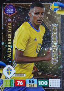 ROAD TO RUSSIA 2018 LIMITED Alexander Isak