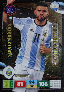 ROAD TO RUSSIA 2018 LIMITED Sergio Aguero