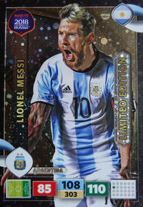 ROAD TO RUSSIA 2018 LIMITED Lionel Messi