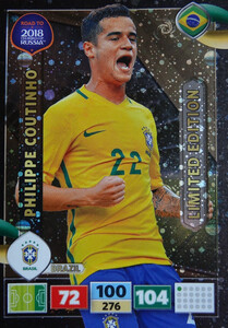 ROAD TO RUSSIA 2018 LIMITED Philippe Coutinho