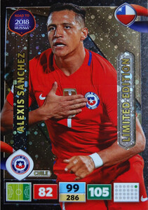 ROAD TO RUSSIA 2018 LIMITED 	Alexis Sanchez