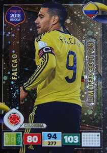 ROAD TO RUSSIA 2018 LIMITED Falcao