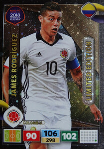 ROAD TO RUSSIA 2018 LIMITED James Rodriguez