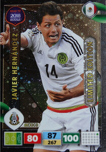ROAD TO RUSSIA 2018 LIMITED Javier Hernandez