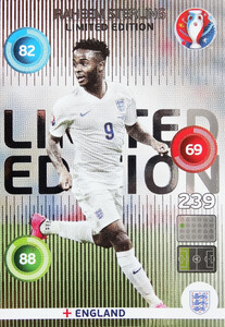 EURO 2016 LIMITED Raheem Sterling
