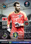 ROAD TO EURO 2016 LIMITED EDITION Andreas Isaksson