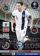 ROAD TO EURO 2016 LIMITED EDITION Niklas Moisander