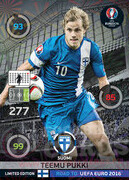 ROAD TO EURO 2016 LIMITED EDITION Teemu Pukki
