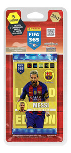 BLISTER FIFA 365 2017 Limited - Lionel Messi blond