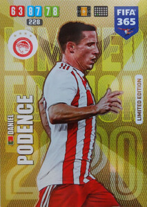 2020 FIFA 365 LIMITED EDITION OLYMPIACOS Daniel Podence
