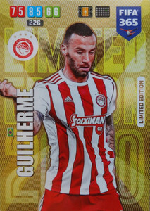 2020 FIFA 365 LIMITED EDITION OLYMPIACOS Guilherme
