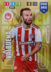 2020 FIFA 365 LIMITED EDITION OLYMPIACOS Mathieu Valbuena