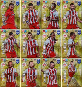 2020 FIFA 365 LIMITED EDITION OLYMPIACOS -  SET 12 KART KOMPLET