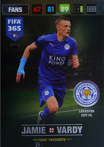 FIFA 365 2017 FANS FAVOURITE - Nordic - Jamie Vardy #54
