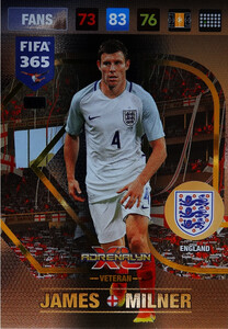 FIFA 365 2017 FANS DEBUT / VETERAN - Nordic - James Milner #419