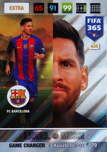 FIFA 365 2017 EXTRA GAME CHANGER Lionel Messi #435