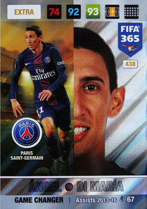 FIFA 365 2017 EXTRA GAME CHANGER Angel Di Maria #438