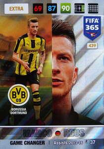 FIFA 365 2017 EXTRA GAME CHANGER Marco Reus #439