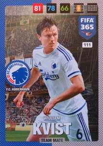 FIFA 365 2017 - NORDIC- TEAM MATE  William Kvist #111