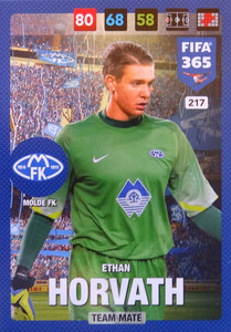 FIFA 365 2017 - NORDIC- TEAM MATE  Ethan Horvath #217