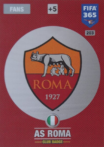 FIFA 365 2017 - NORDIC- CLUB LOGO AS Roma #203