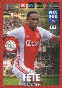 FIFA 365 2017 - NORDIC- TEAM MATE Kenny Tete #211