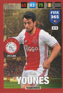 FIFA 365 2017 - NORDIC- TEAM MATE Amin Younes #213