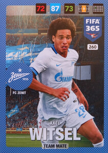 FIFA 365 2017 - NORDIC- TEAM MATE Axel Witsel #260