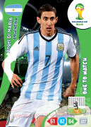 WORLD CUP BRASIL 2014 ONE TO WATCH Ángel Di María #13