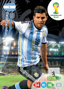 WORLD CUP BRASIL 2014 TEAM MATE Sergio Agüero #15