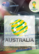 WORLD CUP BRASIL 2014 CLUB BADGE LOGO Australia #19