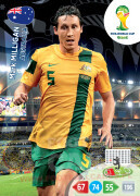 WORLD CUP BRASIL 2014 TEAM MATE Mark Milligan #20