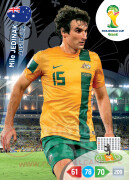 WORLD CUP BRASIL 2014 TEAM MATE Mile Jedinak #21