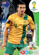 WORLD CUP BRASIL 2014 UTILITY PLAYER Tim Cahill #23