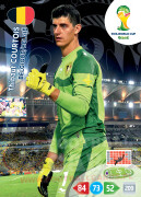 WORLD CUP BRASIL 2014 TEAM MATE Thibaut Courtois #26