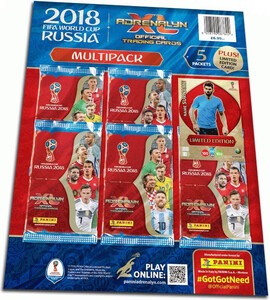 FIFA WORLD CUP RUSSIA 2018 MULTI PACK UK